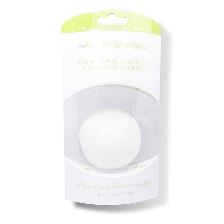 Esponjas Piel sensible The Konjac Sponge Konjac Sponge Pure White Natural Vegetable Fibre Face Sponge