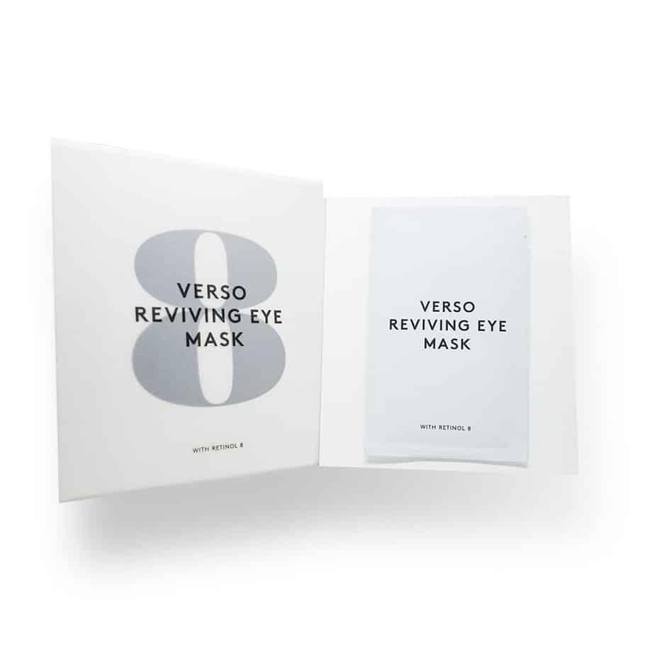 Mascarillas Anti-Age Verso Skincare Reviving Eye Mask