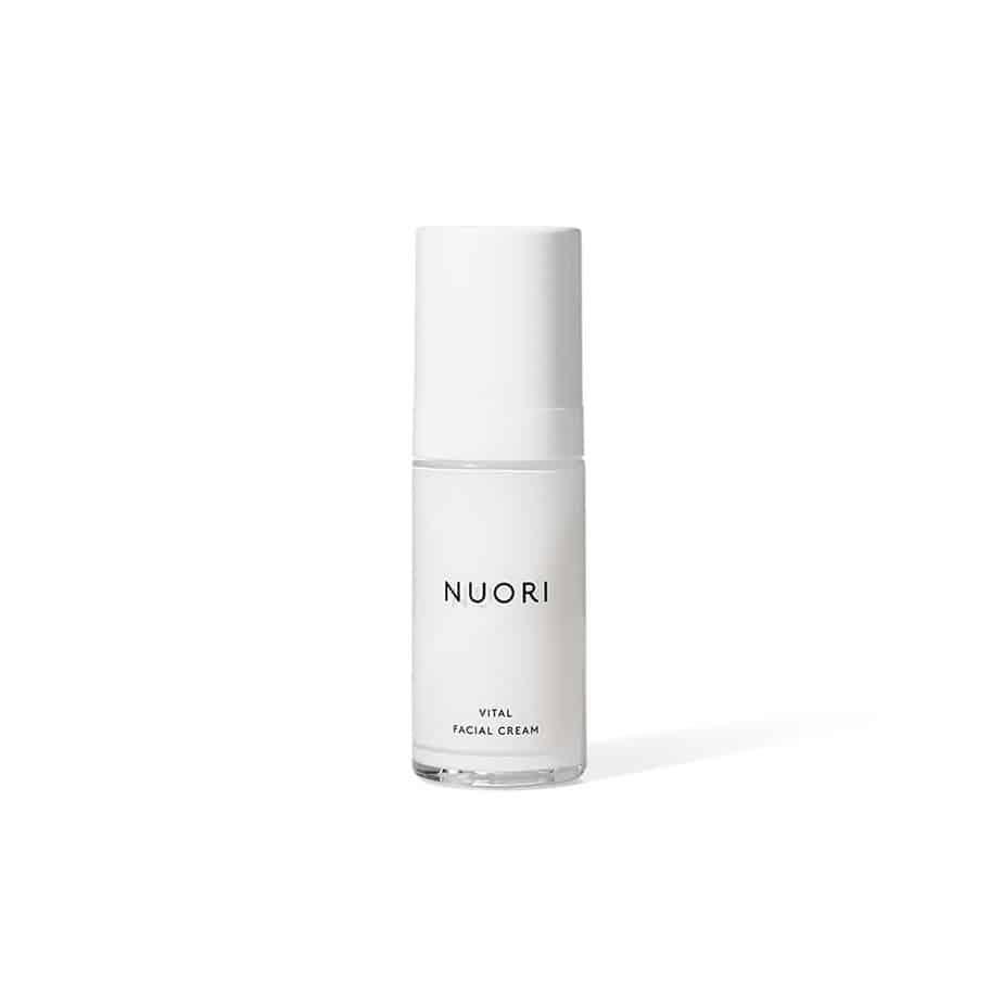 Crema hidratante piel seca y deshidratada Nuori Vital Facial Cream