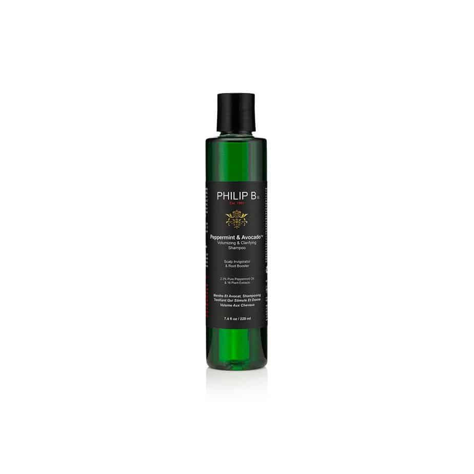 Champú voluminizador cabello graso Philip B Peppermint&Avocado Volumizing and Clarifying Shampoo 220ml