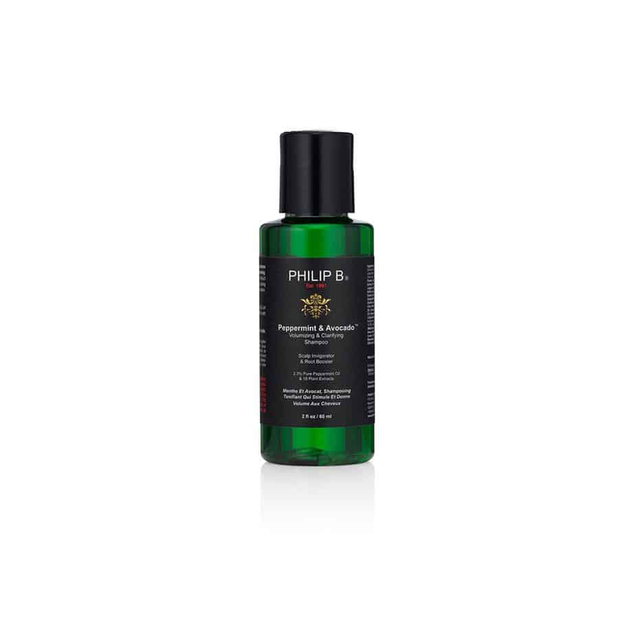 Champú voluminizador cabello graso Philip B Peppermint&Avocado Volumizing and Clarifying Shampoo 60ml